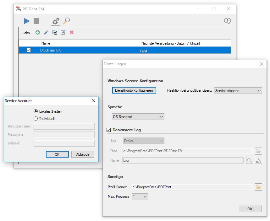 PDFPrint | PDF2Printer, Print PDF, PDF to Printer, Print PDF directly